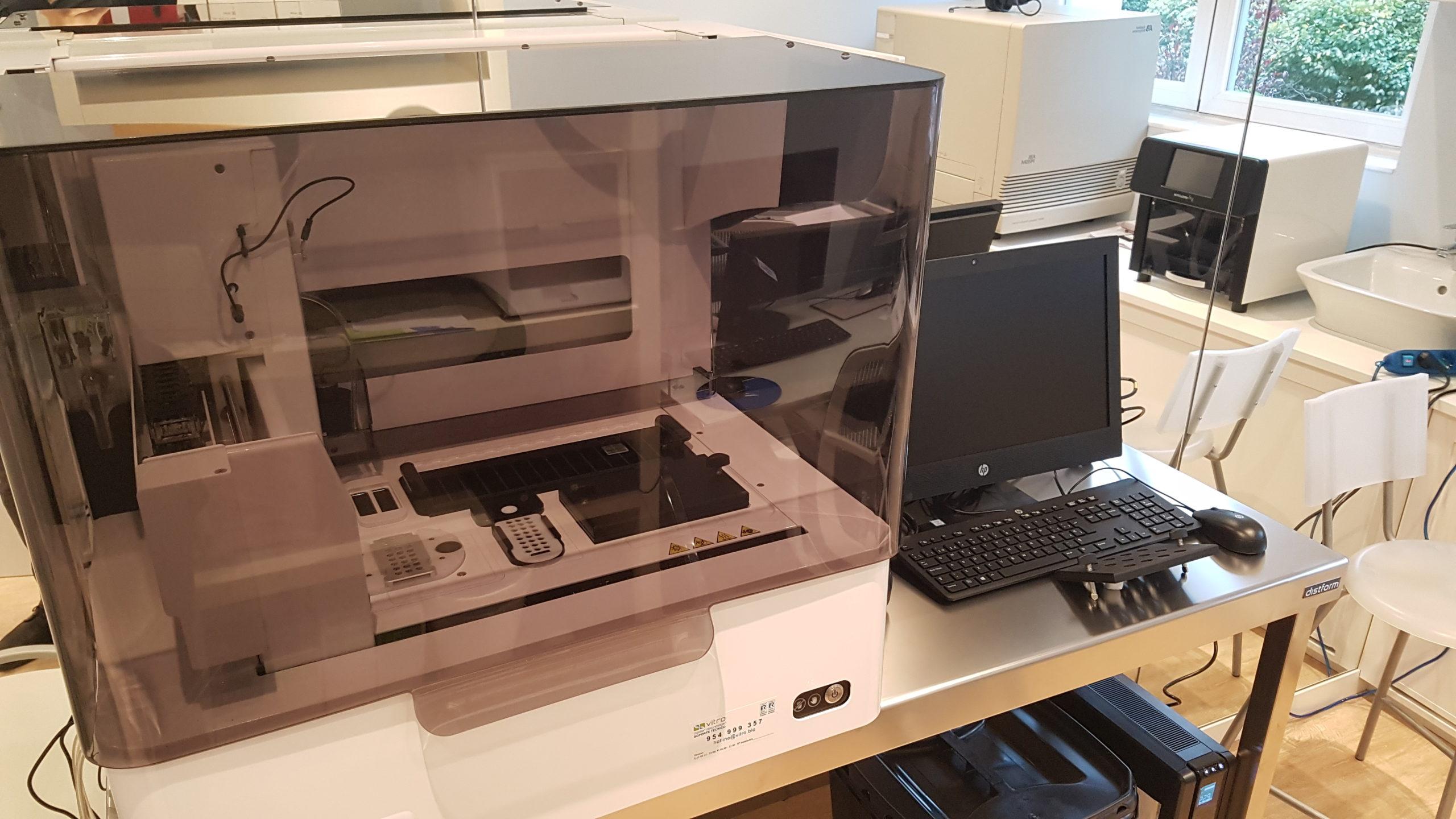Sistema de PCR tiempo real e hibridación in situ para la detección de múltiples infecciones respiratorias incluida COVID19