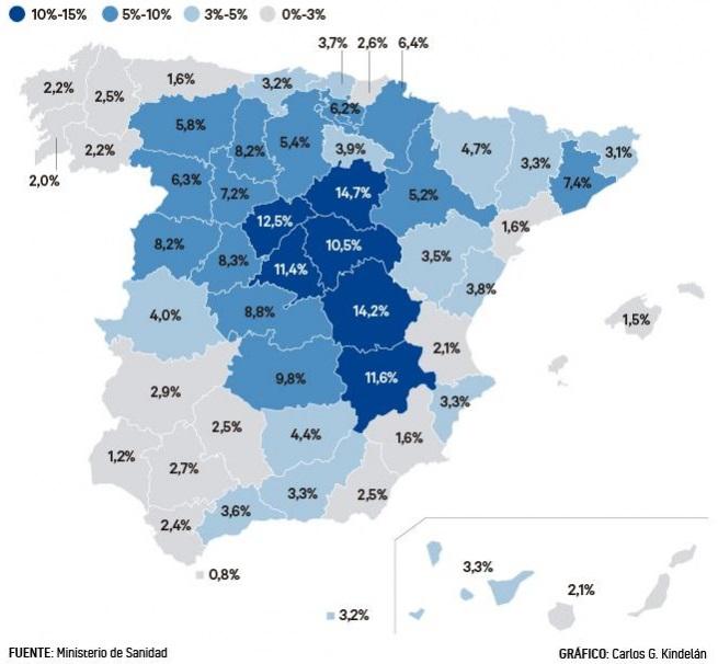 Estudio seroprevalencia España