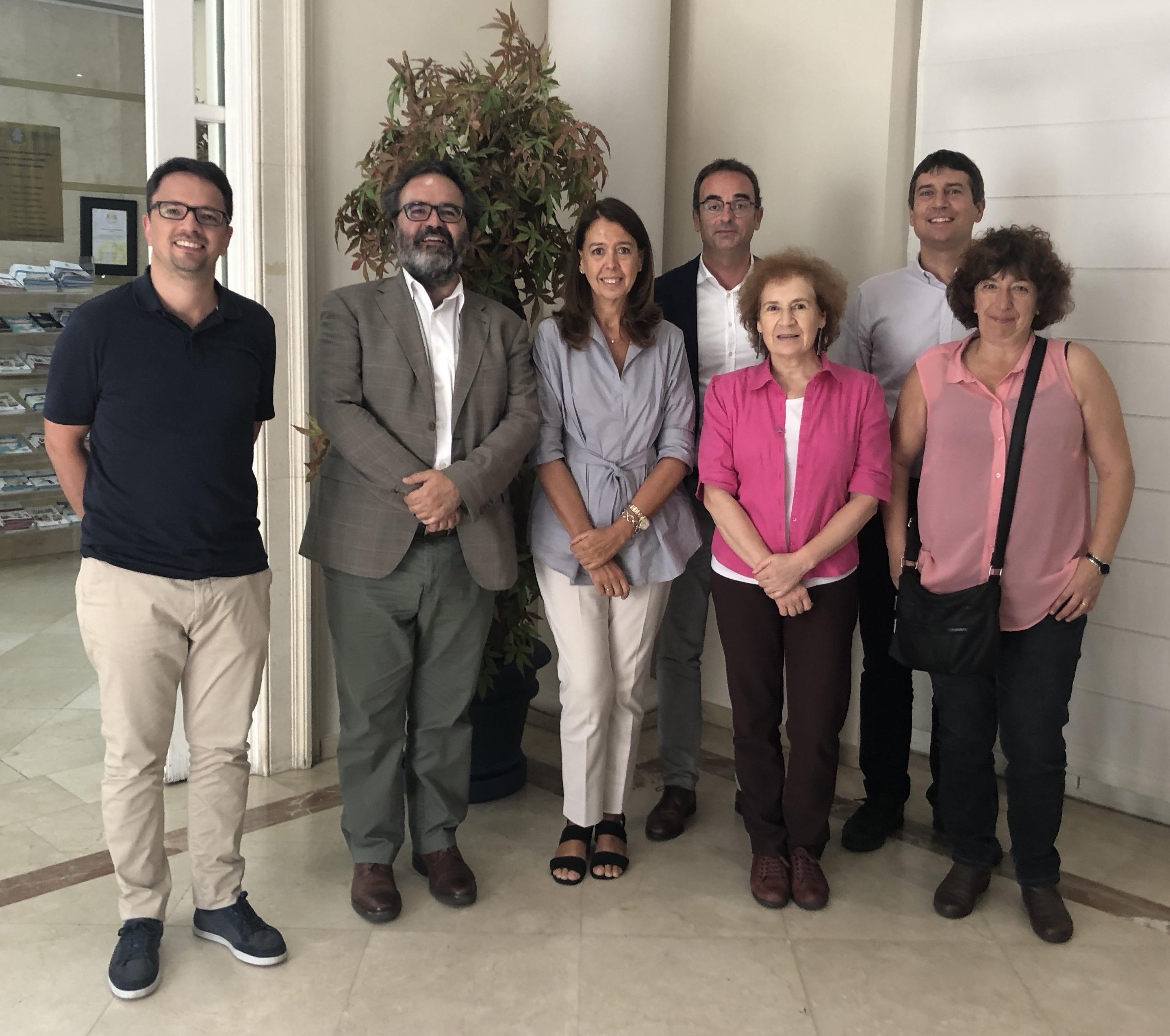 Reunión grupo transparencia COSCE 2019