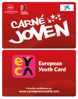 Image carné joven Madrid and European Youth Card