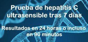 Prueba de hepatitis c por pcr cuantitativa